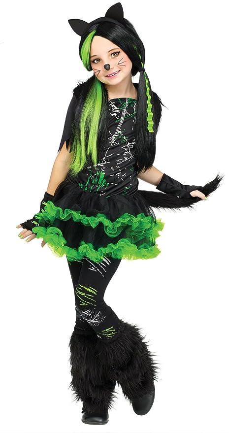 in fashion kids tween girls kool kat costume girls kitty halloween costume