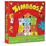 Blue Orange Games Zimbbos Award Winning Wooden Skill Building STEM Counting Stacking Game for Kids
