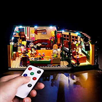 LED Lighting kit for LEGO 21319 LEGO Friends The Television Series Central Perk