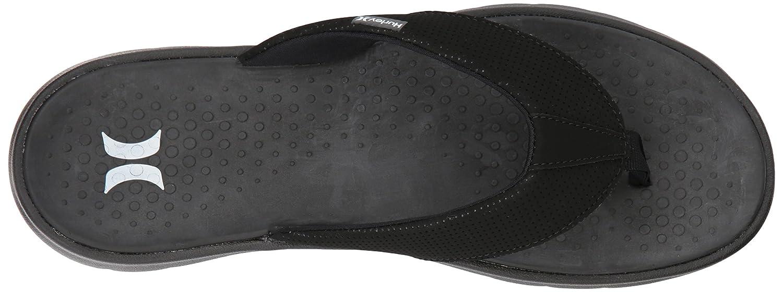 huge selection of 07cc7 8da98 Amazon.com Hurley Mens Flex 2.0 Flip-Flop Shoes