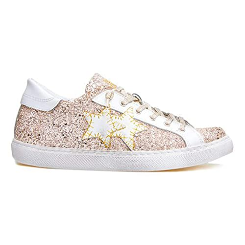 Sneaker Star it Donna Antico Rosa Scarpa Bianco Low 2 35Amazon N8nkwP0OX