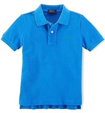 eb74fb8cb9271 Amazon.com  Ralph Lauren Boys Cotton Mesh Polo Shirt  Clothing
