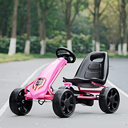Amazon.com: Alek...Shop Enjoy Play Fun Go Kart, Pink Kids ...