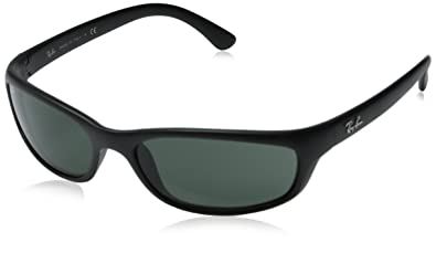 ray ban sunglasses rb4115 frame matte black lens grey green