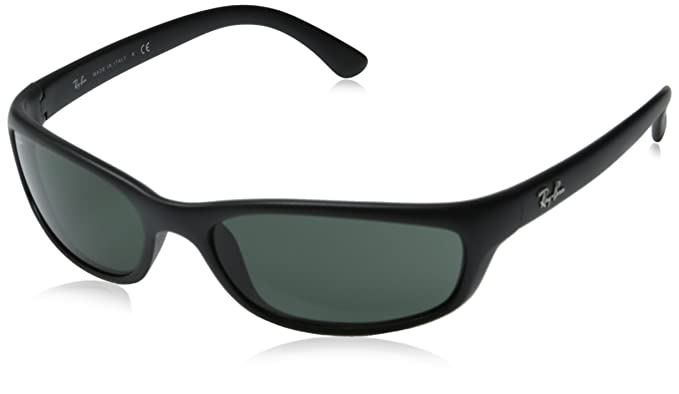 b15072588697 Amazon.com  Ray-Ban Sunglasses - RB4115   Frame  Matte Black Lens ...