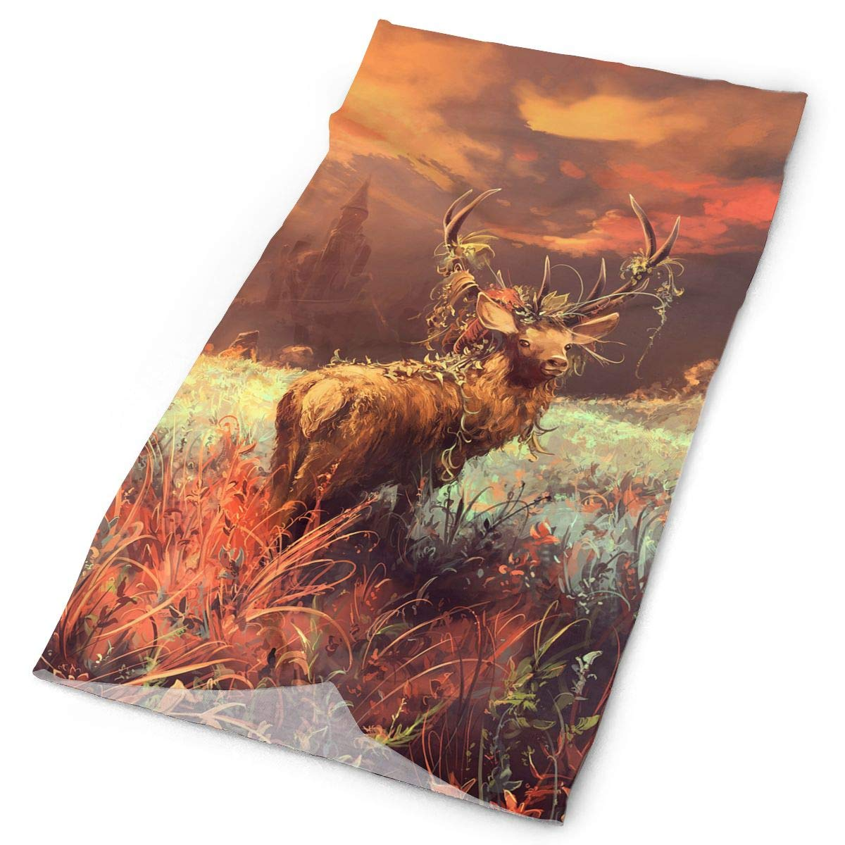 Headbands Deer Wildlife Headwear Bandana Sweatband Gaiter Head Wrap Mask Neck Outdoor Scarf