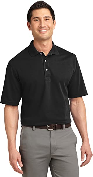 Port Authority Signature Rapid Dry Long Sleeve Sport Shirt White