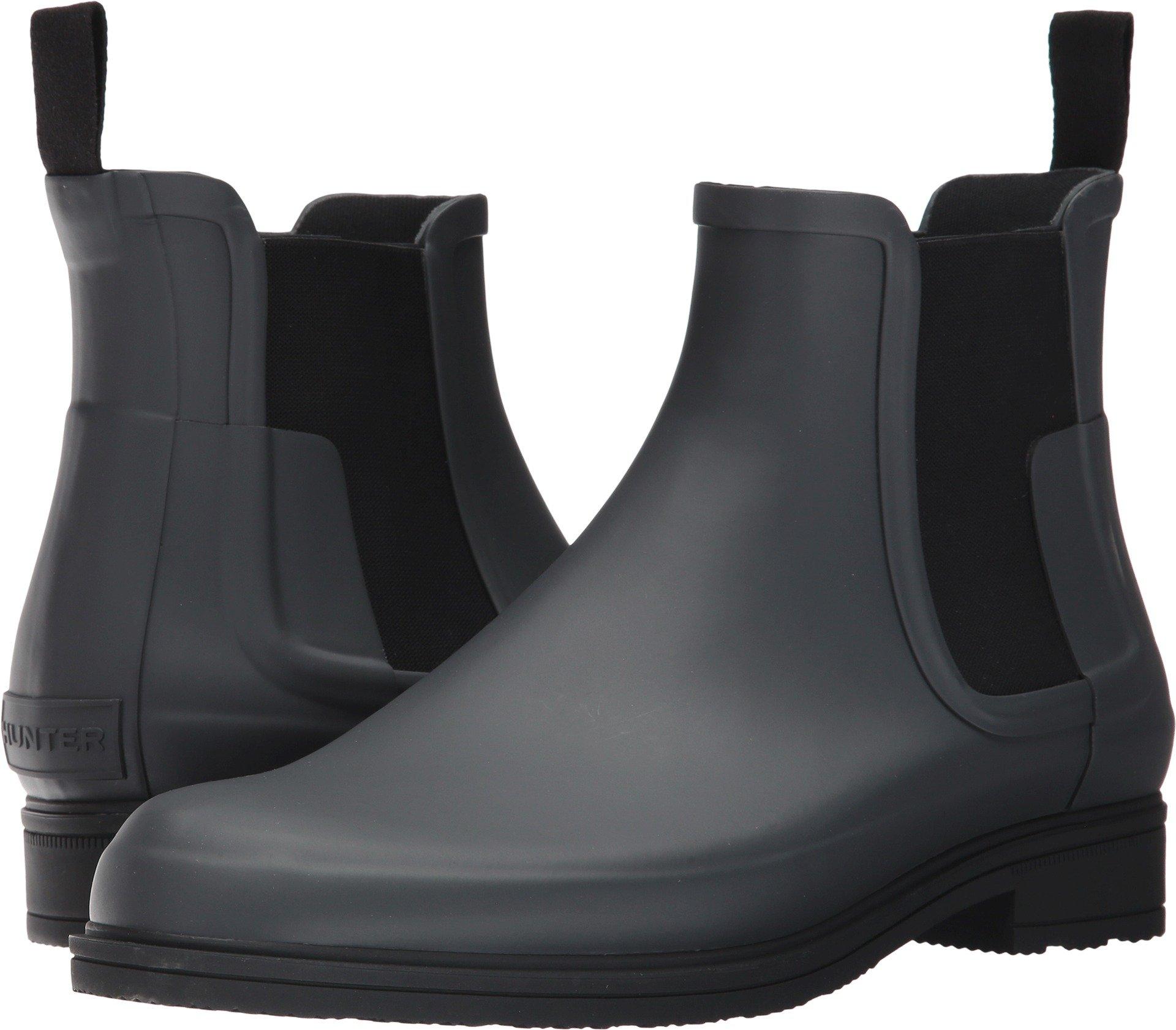 Hunter Men's Original Refined Chelsea Dark Slate/Black Boot