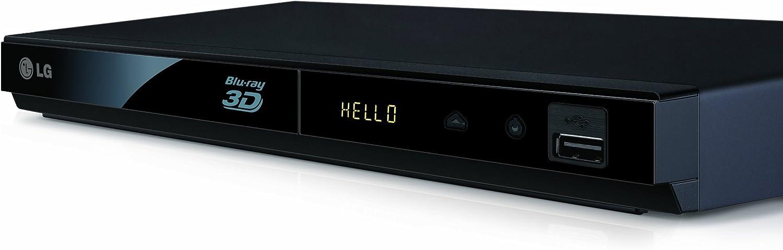 LG BP325 - Reproductor de Blu-ray 3D, Negro: Amazon.es: Electrónica