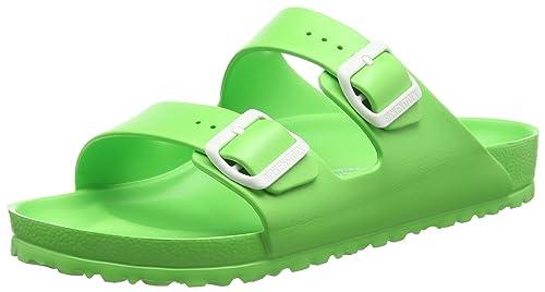 fe10af27f Birkenstock Arizona 129563, Women's Sandals, Green (Neon Green), 4.5 UK (