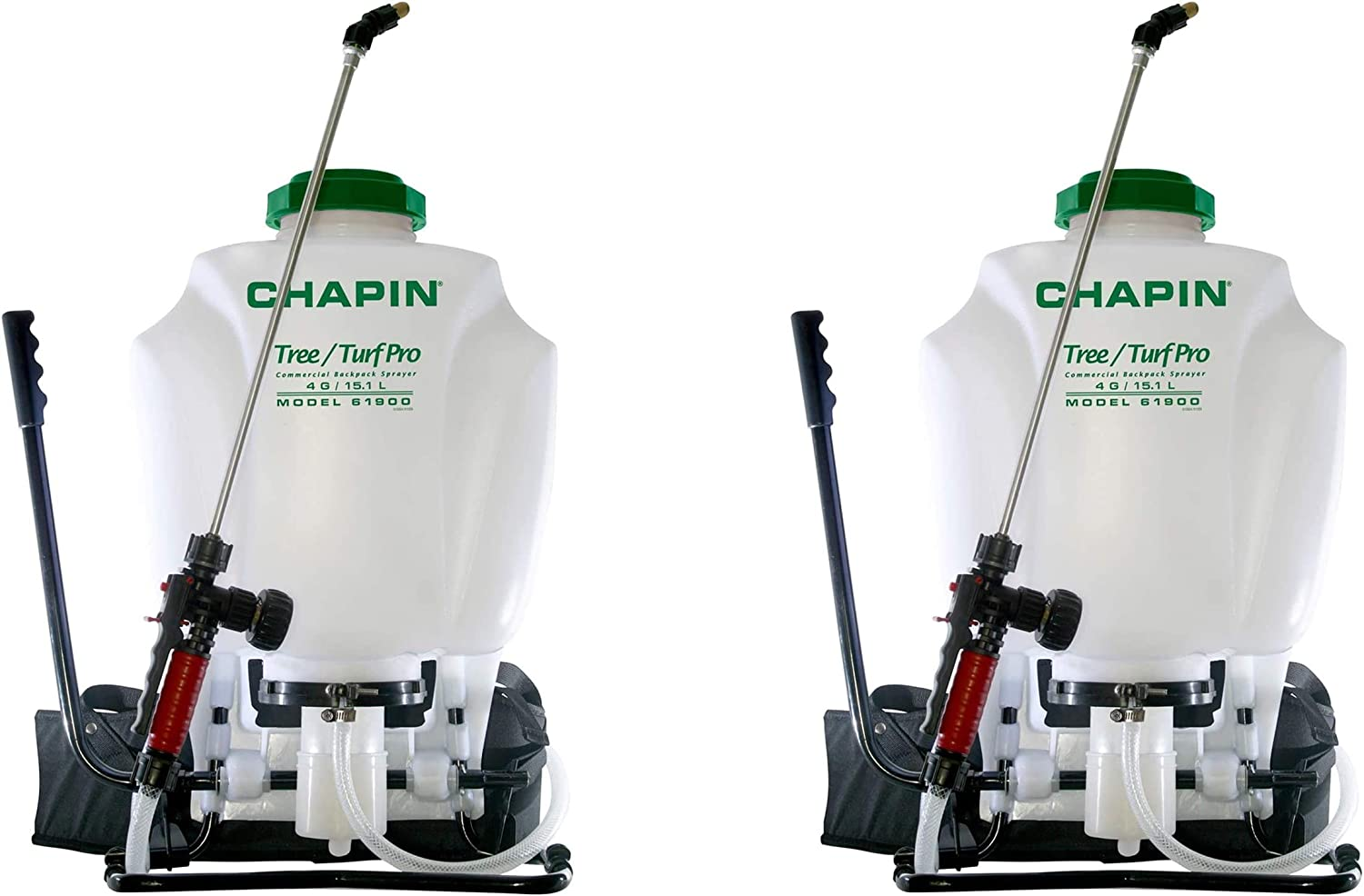 Chapin 61900 4-Gallon Tree and Turf Pro Commercial Backpack Sprayer with Stainless Steel Wand