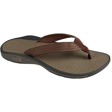 Chaco Men's Fathom Deep Dive Brown Sandal 8 D - Medium