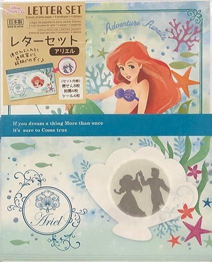 Disney Letter · Ariel letter set