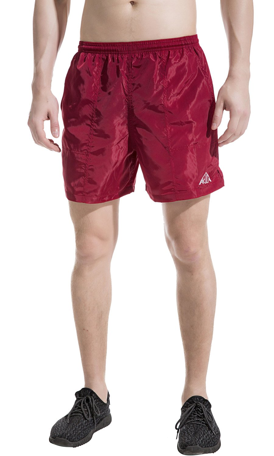 Akula Men's Workout Sport Shorts Swim Trunks