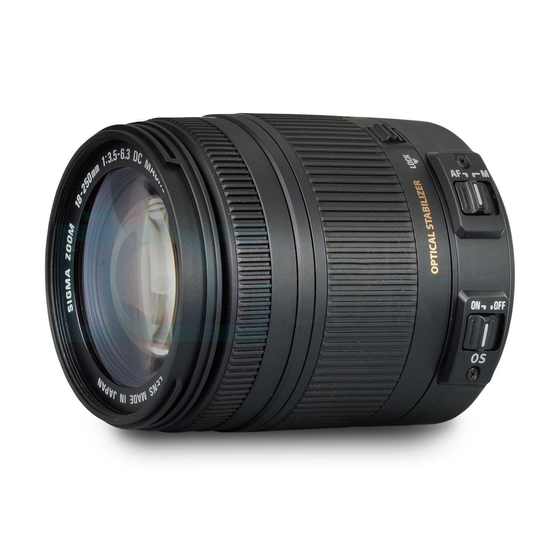 Sigma 18 250mm F35 63 Dc Macro Os Hsm Lens For Nikon Parts Diagram Where To Get A D5000 Slr Dslr Cameras W Advanced Photo And Travel Bundle Camera