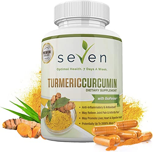 Turmeric Curcumin Supplement 1300mg BioPerine
