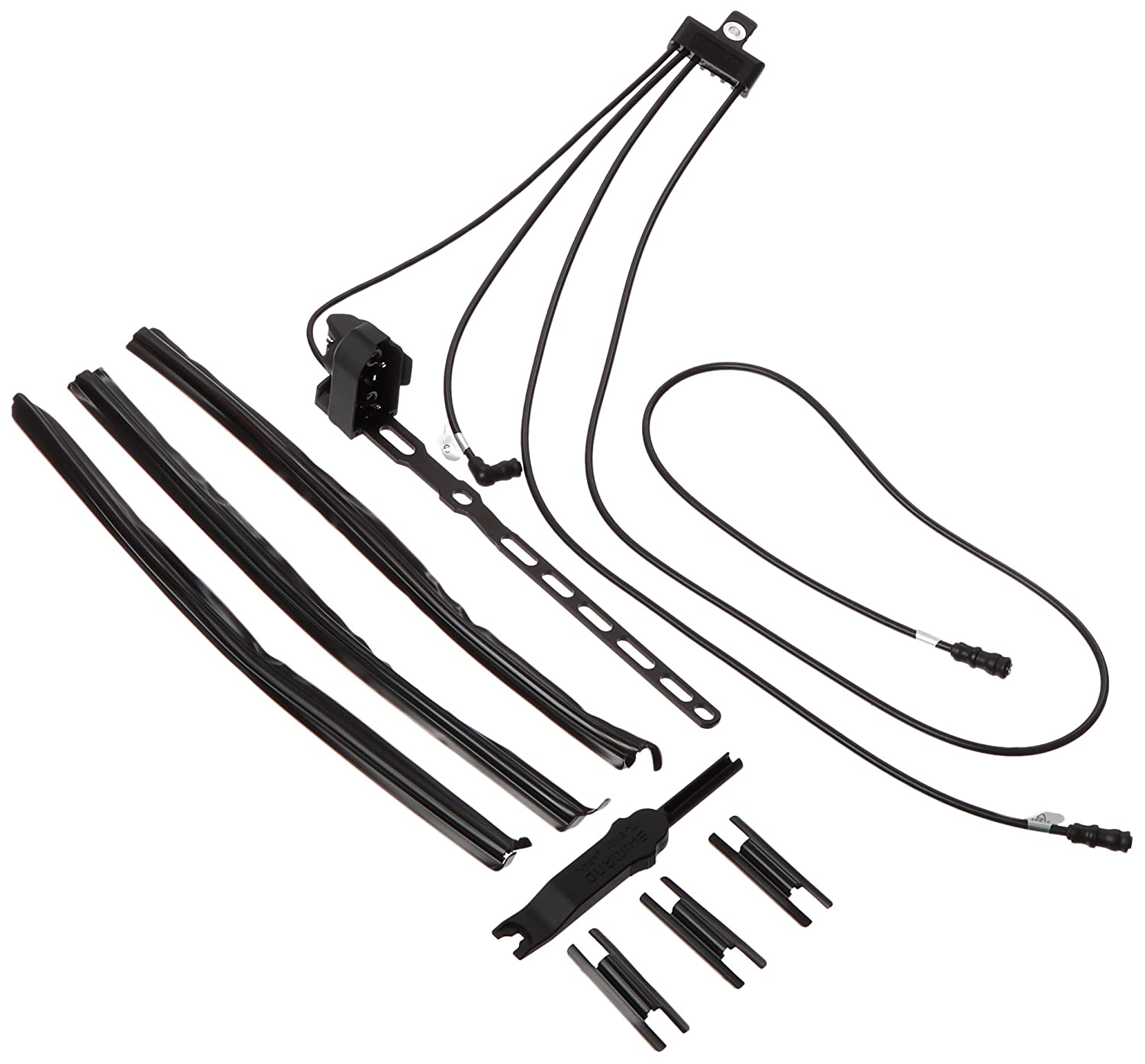 713ZdILLjBL._SL1500_ amazon com shimano dura ace 7970 rear wire kit sports & outdoors wire harness diagram at gsmx.co