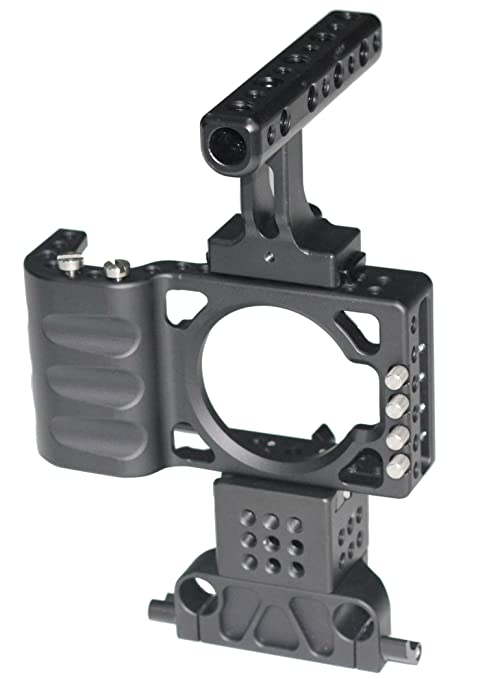 Nuevo asa superior cámaras jaula para BMPCC Armor Jaula Rig con ...