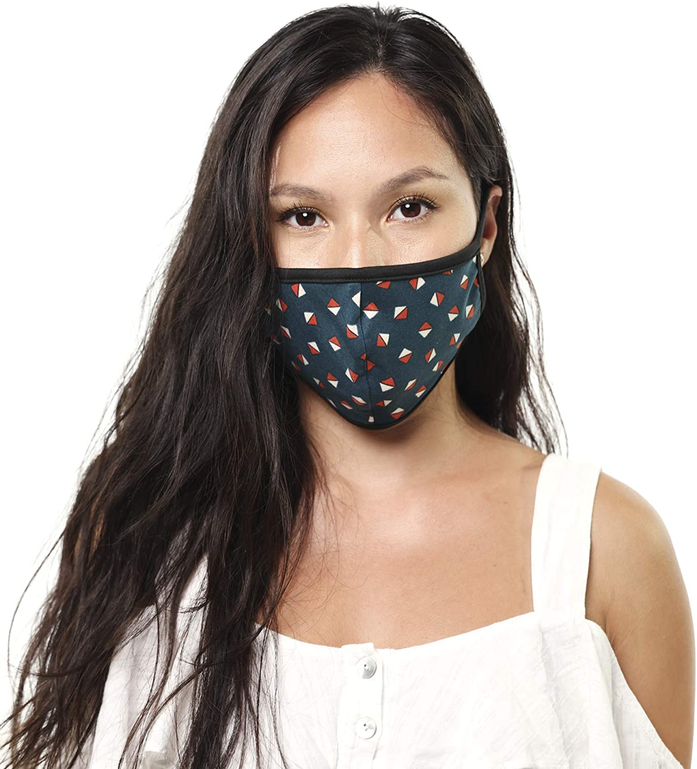 Fashion Adult Men And Women Polka Printed outdoor Anti-Dust Double-layer