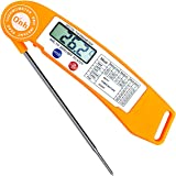 Meat Thermometer - ON'H Instant Read Thermometer Cooking Thermometer Food Thermometer with Strong Magnet for Grilling Barbecue