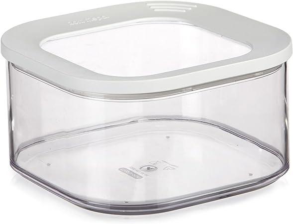 Modula Boite De Rangement Carree 1 25l Transparent Alinea Amazon Fr Cuisine Maison