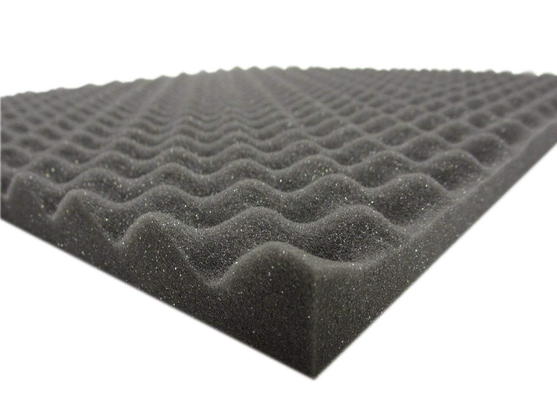 Espuma corrugada (100 x 200 x 3 cm) para aislamiento acústico