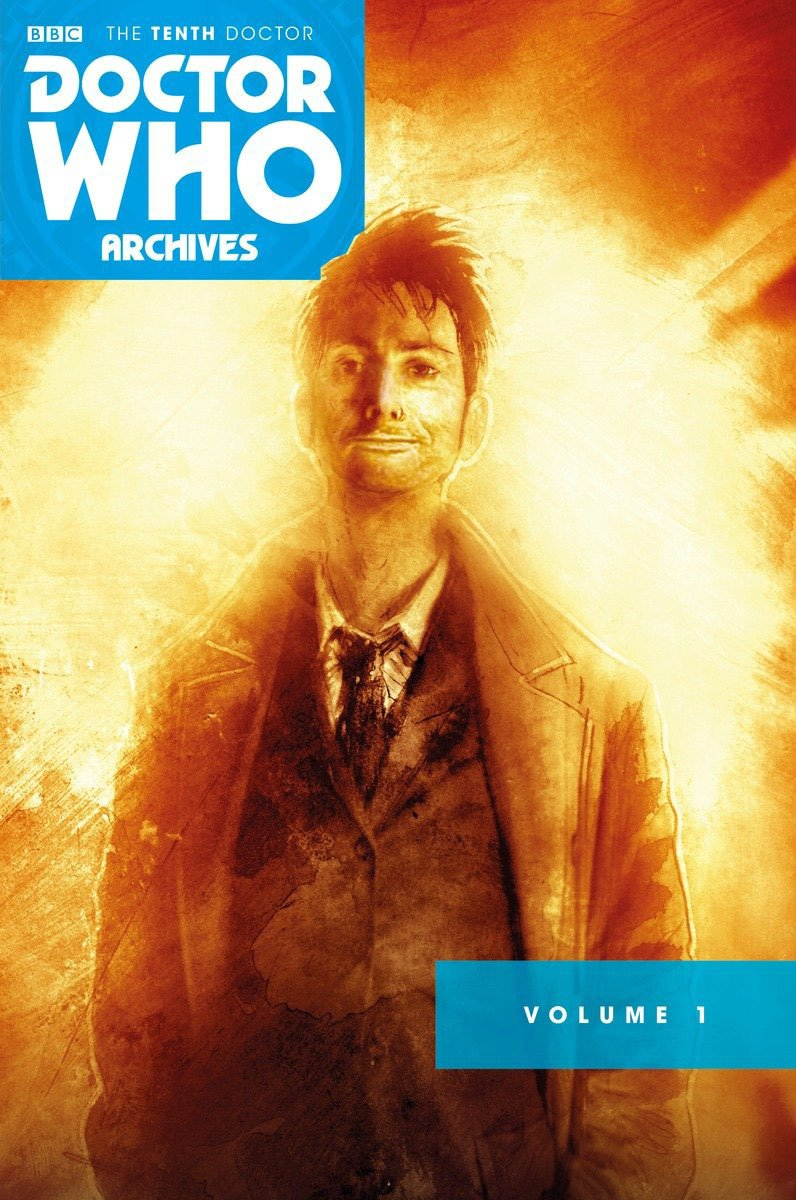 Doctor Who Archives  Tenth Doctor Omnibus Volume 1  Gary Russell ... c0106db4a