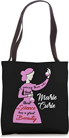 Marie Curie Science Chemistry Beautiful Tote Bag