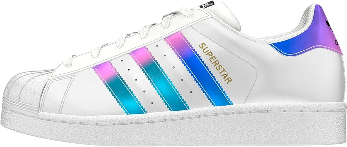 adidas superstar iridescent trainers