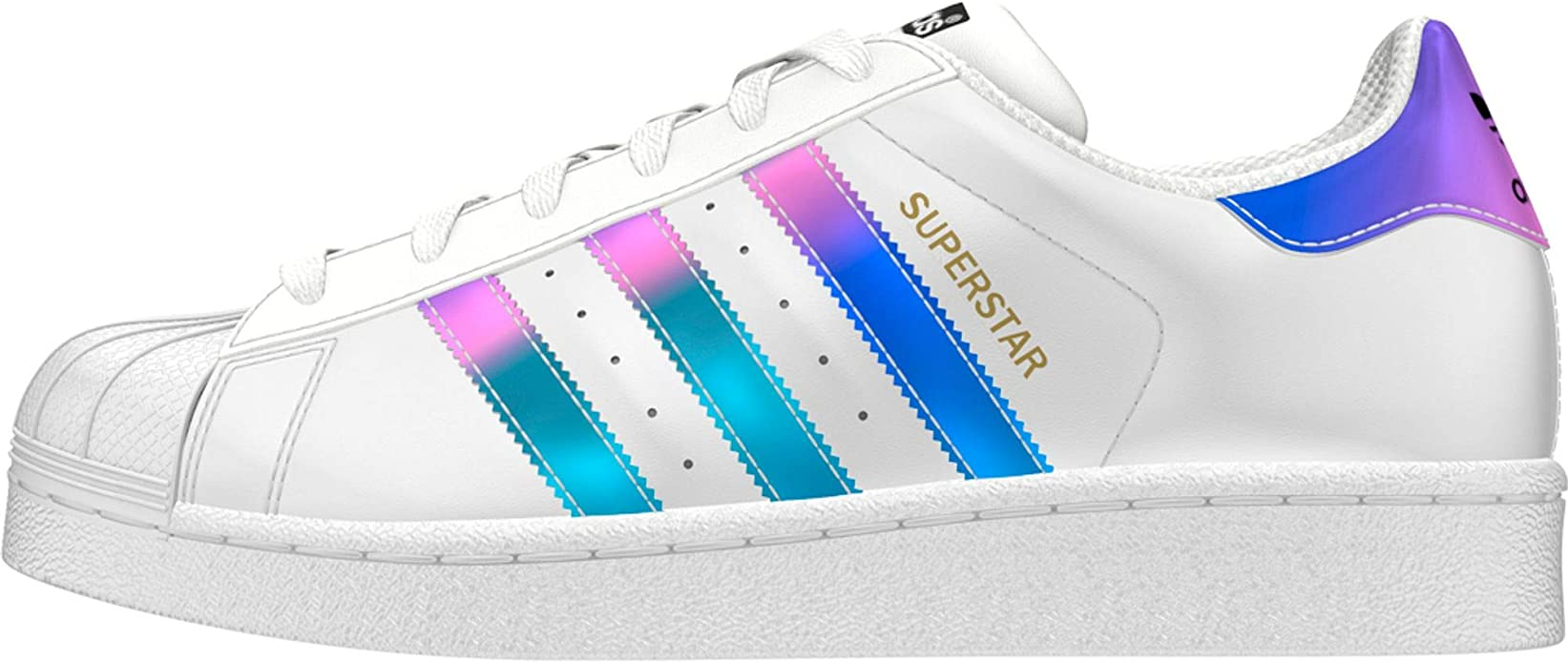 Adidas Superstar J Aq6278 Color Silver White Size 4 5 Amazon Ca Shoes Handbags