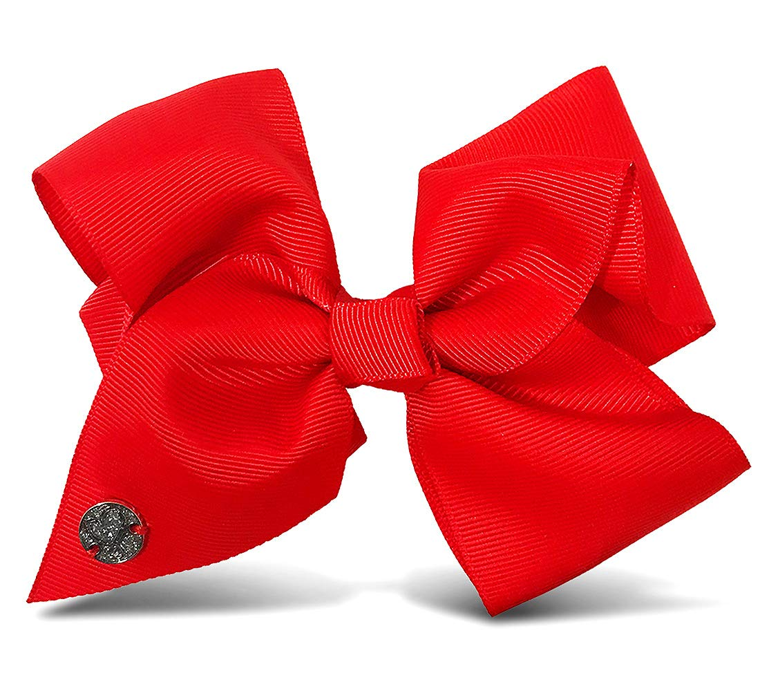 Warp Gadgets Bundle - JoJoSiwa Beauty Cosmetic Set and White, Black and Red Basic Bows on Metal Salon Clip (4 Items) by Warp Gadgets (Image #7)
