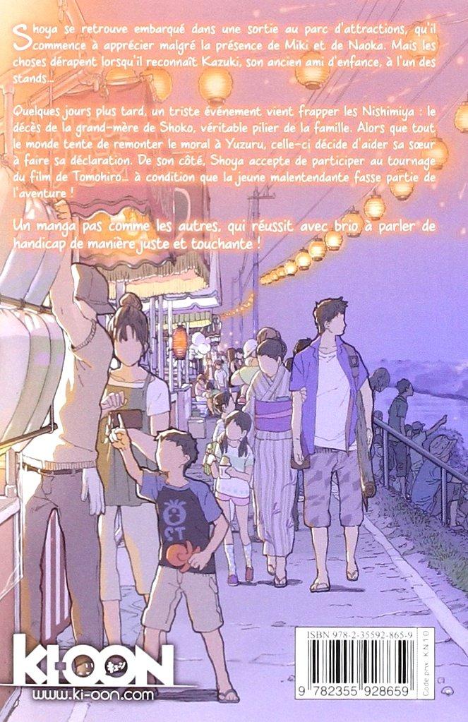 A Silent Voice Tome 5 Yoshitoki Oima 9782355928659 Amazon Com