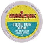 Hurricane Coconut Fudge Typhoon Coffee Capsule, Compatible with Keurig K-Cup Brewers, 24-Count