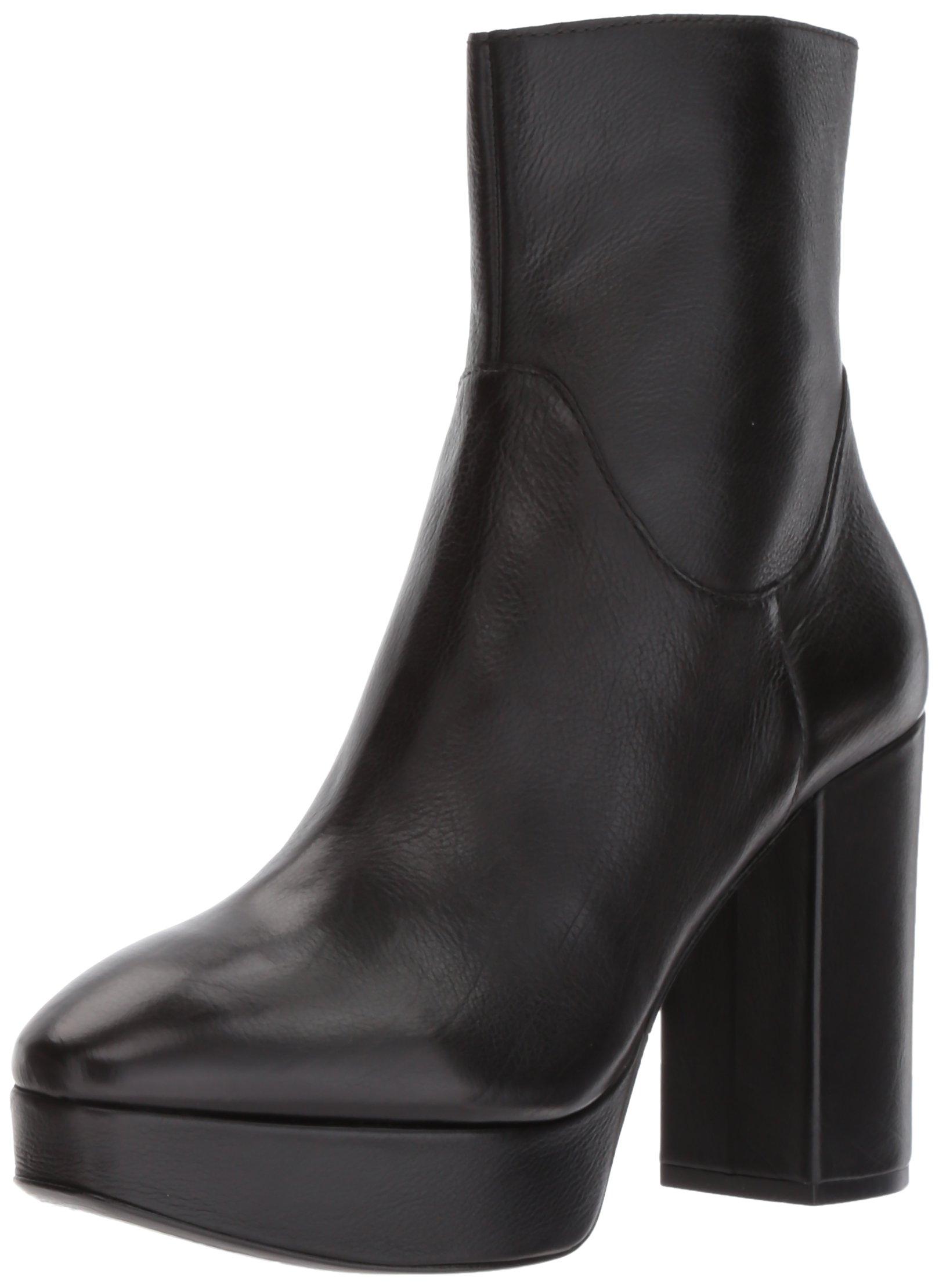Ash Women's Amazon Fashion Boot, Black, 38 M EU (8 US)