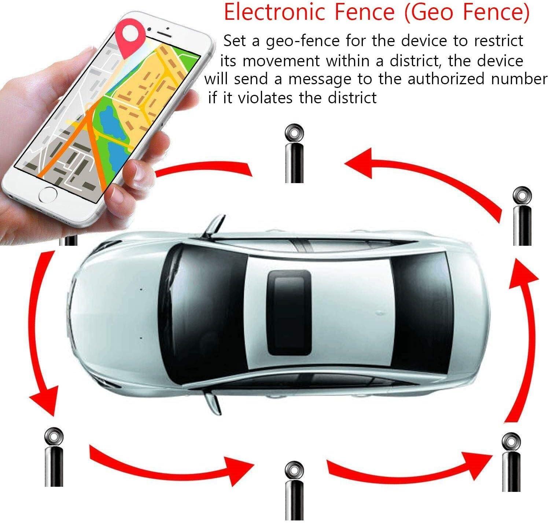Zeerkeer GPS Tracker,10000mAH Localizador GPS Seguimiento en ...