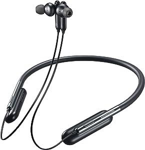 Samsung U Flex Bluetooth Wireless In-ear Flexible Headphones with Microphone, Black.