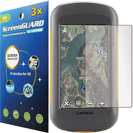 3 x Garmin Montana 600 600t 650 650t para GPS portátil Protector de pantalla LCD para