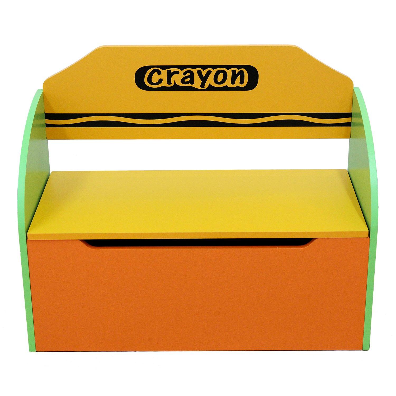 Kiddi Style Spielzeugkiste, Kinder Truhe Kinderspielzeug & stylische Spielzeugtruhe für Kinderspielzeug Truhe & zur Spielzeugaufbewahrung – Sitztruhe, Spielzeugbox & Spielkiste für Spielsachen 634568