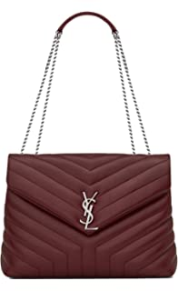 0ab2c208d79e Paper Yves Saint Laurent monogramme loulou loulou medium in matelasse-y-leather  shoulder bag