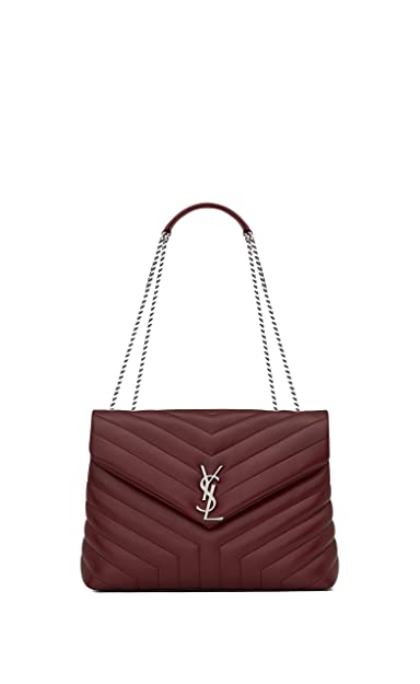 Paper Yves Saint Laurent monogramme loulou loulou medium in matelasse-y- leather shoulder bag 3d48bfec68313