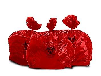 Amazon.com: Oakridge - Bolsas de basura de biopeligro de 10 ...