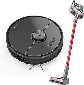 S6 Robot Vacuum Cleaner and H6 Cordless Vacuum