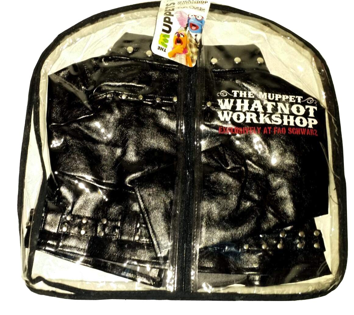 Black Leather Jacket Doll Outfit FAO Schwarz The Muppets Whatnot Workshop