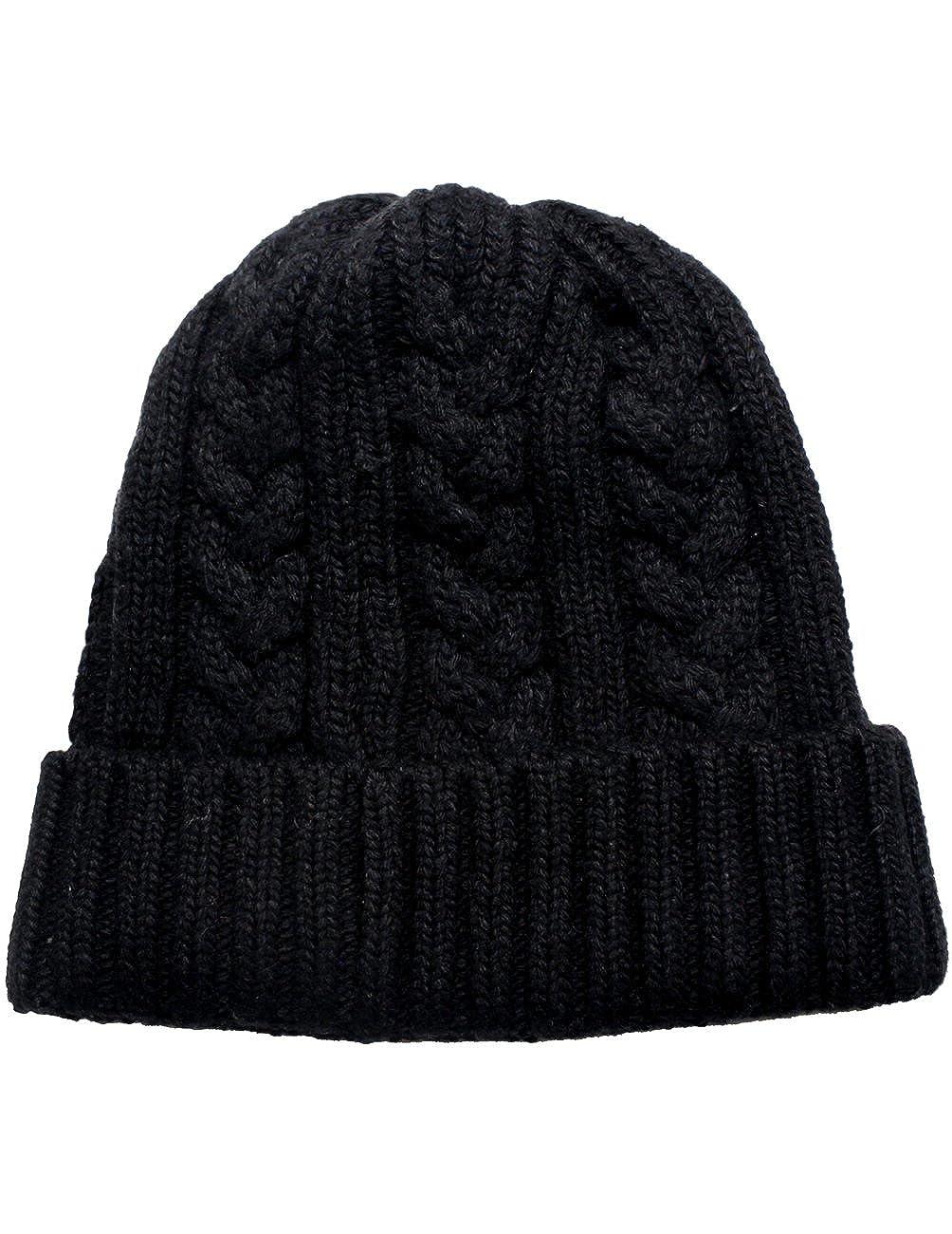 Dahlia Men s Cable Knit Beanie 1a2bb8e4845