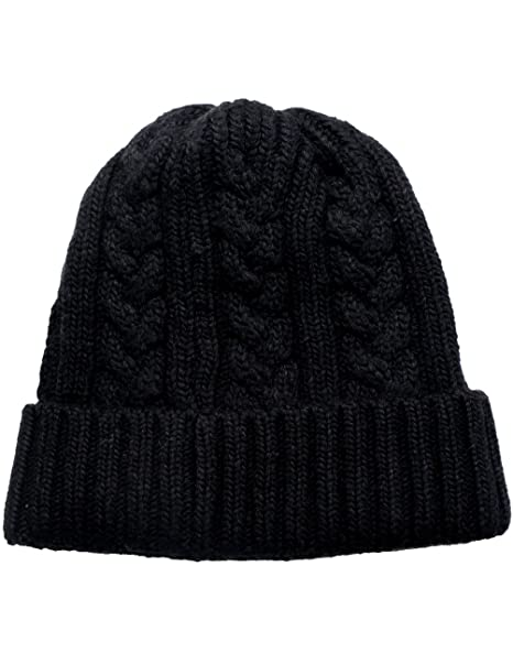 Dahlia Men s Cable Knit Beanie a7a5c62f7fdf