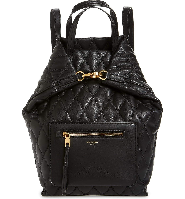 [ジバンシー] レディース バックパックリュックサック Givenchy Duo Quilted Faux Leather Backpa [並行輸入品] One-Size  B07L8BCK91