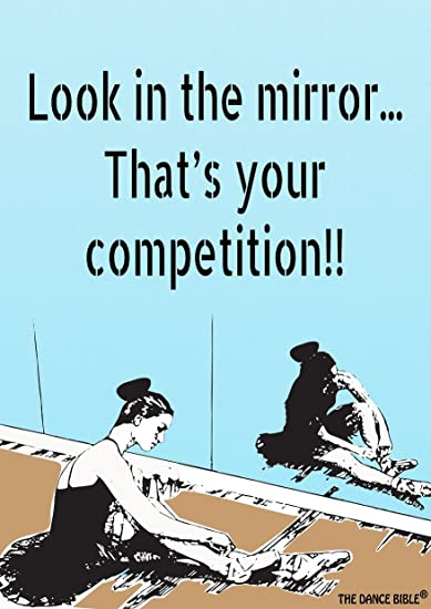 Look In The Mirror A3 Size Dance Poster Wall Poster Dance