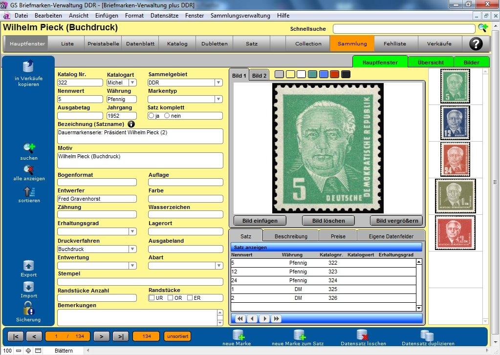 Gs Briefmarken Verwaltung Ddr Amazonde Software