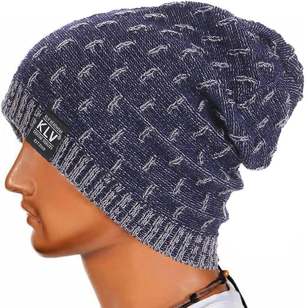 Cebbay Liquidación Gorros de Punto Hombre Unisex cálido Crochet ...
