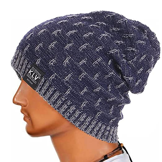 Herren Und Damen Gehäkelte Strickmütze Häkeln Beanie Baggy Knit